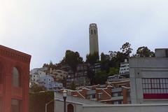 1994-07-Californie-San Francisco-Coit Tower_[126-1588] (jacquesdazy) Tags: sanfrancisco coittower californie 199407 pc126