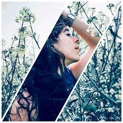 ... (explored on 10.05.2016) (MsFerret_Art) Tags: flower me field self garden myself wicked memyselfandi selfie project365