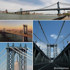 Tourist-Attraction-MSMBAinUSA-14.5.16 (MSMBAinUSA) Tags: travel bridge usa newyork love beautiful skyline amazing manhattan midtown explore manhattanbridge suspensionbridge touristattraction travelawesome instagood instalike msmbainusa