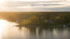 Sweden's archipelaco (JuNu_photography) Tags: light sunset sea nature water beautiful spring sweden mark iii 85mm sigma shore 5d 5d3 archipelaco