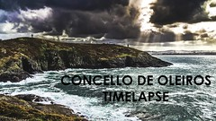 Timelapse Oleiros (David Balado Fotografa) Tags: santa sunset sea espaa seascape castle beach clouds landscape atardecer mar timelapse nikon corua time paisaje espana galicia cruz nubes castillo lapse coruna oleiros concello hyperlapse