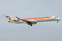EC-JZT Iberia Regional - Air Nostrum (Gerry Hill) Tags: de airport spain san er juan air son mallorca palma regional 900 iberia bombardier crj900er ecjzt nostrumcrj