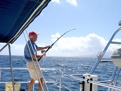 IMG_7628 (Slackadventure) Tags: sun water boats islands sailing pacificocean cruisers circumnavigation marquesas slackadventure