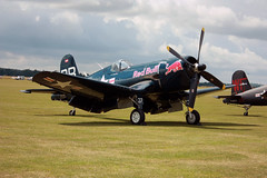 F4U-4 BuNo 96995 – The Flying Bulls (Martin D Stitchener PiccAddo Photography) Tags: photography flying photo flickr bulls legends duxford warbirds the buno – f4u4 twitter 96995 martinstitchener dxhawk