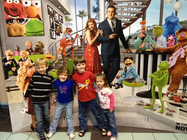 At THE MUPPETS