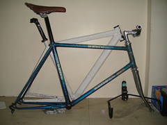 mini velo (Snoopkes) Tags: road old school bike japan speed steel gear mini single frame fixed fixie velo 38 racer suntour shimano seatpost 254 kalloy 20x1