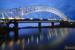 Runcorn-Widnes Bridge (Jeffpmcdonald) Tags: bridge runcorn widnes silverjubileebridge britanniabridge nikond80 jeffpmcdonald ringexcellence dblringexcellence tplringexcellence nov2011 ethelfledabridge flickrstruereflection1 flickrstruereflection2 flickrstruereflection3 flickrstruereflection4 eltringexcellence