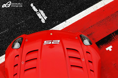 599XX Bonnet (Raphal Belly) Tags: red black cars car del racetrack rouge photography eos photographie 21 corse xx ferrari belly exotic 25 7d enzo passion programs raphael rb evo autodromo supercars clienti noire raphal mugello finali 599 2011 fxx evoluzione programmes mondiali egarage 599xx egaragecom