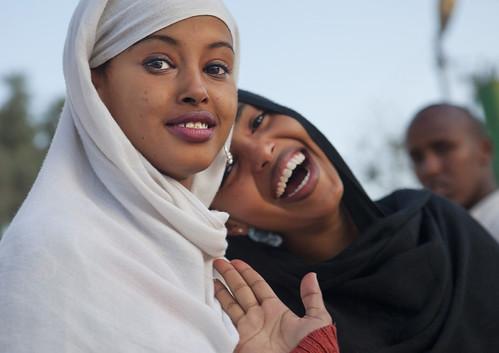 Hargeisa girls smiles - Somaliland
