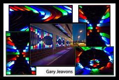 colour wall (gazjeavons) Tags: colour lumix lights panasonic nightscene doncaster microfourthirds dmcg2