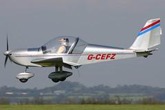 G-CEFZ (johnmorris13) Tags: comptonabbas ev97 egha teameurostar cosmikaviation gcefz