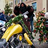 Santa's (not so) Little Helper (Bephep2010) Tags: bike schweiz switzerland sony christmasmarket weihnachtsmarkt motorbike motorcycle alpha 55 aargau topaz motorrad vibrance adjust zofingen santaslittlehelper knechtruprecht schmutzli slta55v adjust5