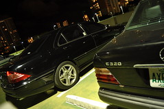 (Micho Photographer) Tags: mercedesbenz syria amg s55 brabus w124 e320 شبح w220 فرخ غواصة