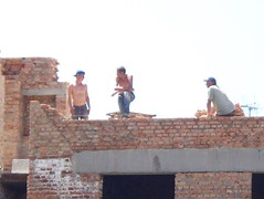100_3920 (The Mighty Danny) Tags: hairy man sexy men guy window work relax foot student nipples legs muscular smoke chest butt rear young handsome hunk guys belly cap worker ladder contruction stud builder bulge