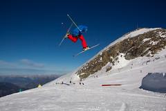 Kitzsteinhorn Funpark (mr-mojo-risin) Tags: schnee winter sky mountain snow ski mountains alps berg austria österreich skiing glacier alpen gletscher zell funpark kitzsteinhorn