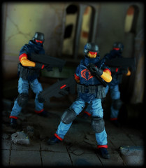 GI Joe 30th Anniversary/Renegades - Cobra Troopers (Ed Speir IV) Tags: trooper infantry gijoe toy toys actionfigure cobra anniversary military cartoon joe troopers figure scifi animation 30th figures gi hasbro 30thanniversary renegades 334