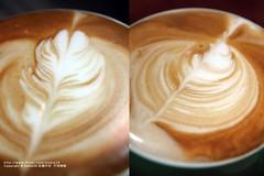 搖晃的幅度差一點結果就會差很多~ (nodie26) Tags: art cup water coffee cafe tea drink latte 咖啡 素材 下午茶 拿鐵 拉花 素材庫