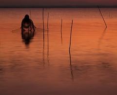 La rete (da.geli) Tags: sunset italy lake water umbria trasimeno larete doubleniceshot mygearandme mygearandmepremium mygearandmebronze thefishingnet
