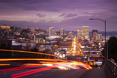trafficpatterns.tacoma+downtown_0174 (deusexmachinecode) Tags: longexposure light sunset evening cool nikon downtown traffic trails tacoma uncool d200 cool2 cool5 cool6 cool4 flickrchallengegroup flickrchallengewinner cool7 thechallengefactory uncool2 uncool3 uncool4 iceboxcool