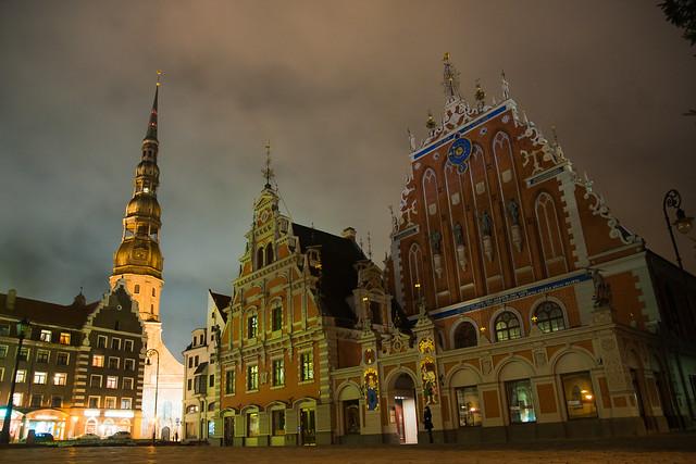 Old city. Riga.