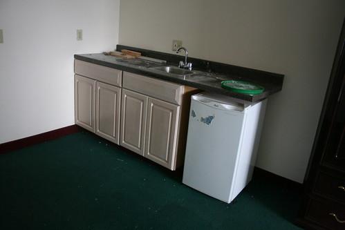 Mini-suite kitchenette