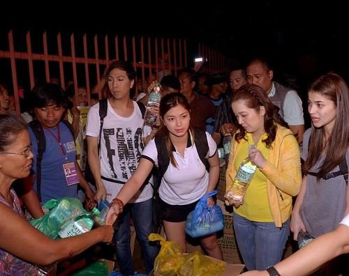 Kris Vice Angel & Anne personal na namahagi ng tulong sa Cagayan de Oro_4
