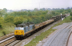 How The Mighty Fall (Yorkshire's Finest) Tags: hoover 50 vac westbury class50 50005