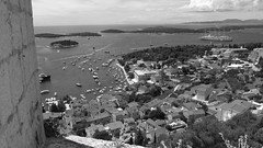 Town of Hvar (Create&Value) Tags: old houses light sea castles water animals boats islands seaside ancient ruins croatia palace land lovely fortress adriatic dalmatia settlements