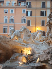 (blurray) Tags: rome roma trevi piazza fontana