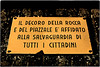 ... 220V1846 (*melkor*) Tags: city urban castle art public sign warning geotagged minimal conceptual imola melkor trashbit imolabit apublicwarning backtotrashbitproject imolacastle