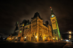The Canadian Parliament (Yohsuke_NIKON_Japan) Tags: longexposure canada night nikon ottawa sigma parliament nightview  hdr canadianparliament 10mm   colorefex  canadaparliament  d300s