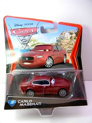 DISNEY CARS 2 CARLO MASERATI  (1) (jadafiend) Tags: scale kids toys model disney puzzle pixar remotecontrol collectors adults variation francesco launcher cars2 crewchief lightningmcqueen lewishamilton targetexclusive kmartexclusive collectandconnect raoulcaroule jeffgorvette johnlassetire carlomaserati piniontanaka carlavelosocrewchief mcqueenalive denisebeam meldorado pitcrewfillmore francescoscrewchief