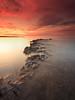 Longhoughton (Alistair Bennett) Tags: sunset seascape coast rocks northumberland sugarsands boulmer longhoughton nd12 canonefs1022 gnd075he gnd045se longhoughtonsteel