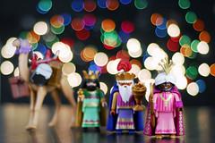 . (susilalala) Tags: christmas navidad bokeh gaspar ligths reyesmagos baltasar melchor