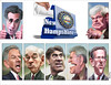 New Hampshire Primary Characters - Caricatures