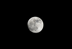 The Moon (hpaich) Tags: moon lunar space night sky orbit outerspace desktop background wallpaper desktopbackground desktopwallpaper