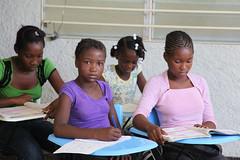 Children from SOS School in Santo, Port-au-Prince (SOS Children's Villages UK) Tags: poverty charity family school children haiti earthquake education development ngo