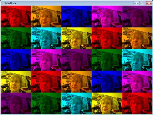 Kinect Pop Art
