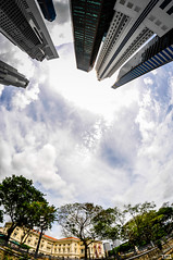 What style are you ? (Teo Morabito) Tags: fish eye skyline singapore singapour photosteomorabitocom wwwphotosteomorabitocom wwwteomorabitocom teomorabito