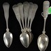141. (6) Sterling and (1) Coin Silver Spoons