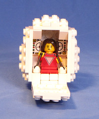Mork6 (Shmails) Tags: robin williams lego egg sphere spaceship custom lowell mork minifigure ork