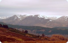 Glen Lyon from Glen Quaiche(60,s style) (eric robb niven) Tags: road winter scotland perthshire glen tay loch kenmore amulree testhill mygearandme blinkagain quiache
