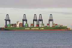 CSCL Zeebrugge -  IMO 9314234 (mariafowler.co.uk) Tags: ship vessel containership felixstowe csclzeebrugge