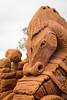 Sand Sculpting (Halans) Tags: australia nsw windsor hawksbury mysticalcreatures sandsculpting