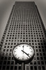High Clock (Alexandre Moreau | Photography) Tags: building london clock vertical contrast buildings lowlight time perspective dramatic canarywharf nikonafsdx nikkor1685f3556gedvr nikond7000 alexandremoreau|photography