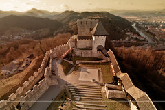 Dream Castle (M4j4) Tags: castle colors stairs fence slovenia dreams auditory