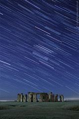 Stonehenge at night (AndWhyNot) Tags: mist cold english heritage night star frozen long exposure stones trails stack stonehenge wiltshire stacked startrails 0038 starstax