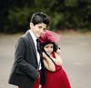 Nawaf & Aljazi (Ebtesam.) Tags: boy red sunlight girl hair kid nikon dress outdoor 85mm curly saudi jeddah nawaf aljazi ebtesam chikl nikond7000