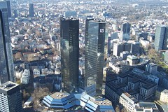 Frankfurt am Main, Germany (fisherbray) Tags: skyline skyscraper germany deutschland hessen euro frankfurt financialcenter frankfurtammain frankfurtmain bankenviertel hesse  maintower helaba frankfurtam eurotower deutschebankhochhaus deutschebankii deutschebanktwintowers fisherbray deutschebanki