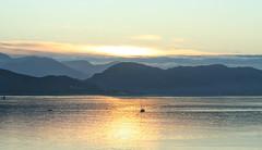 Dawn magic (larigan.) Tags: mountains sunrise dawn scenic serenity fjord fishingboat rework larigan valderyfjord phamilton licensedwithgettyimages ginordicjan12